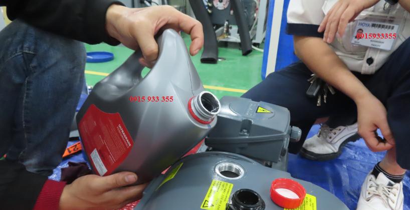 Sửa chữa,đại tu bơm hút chân không Edwards EH1200 cho công ty Hoya, tại Bình Dương