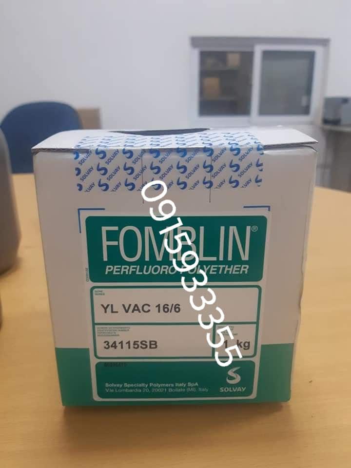 Dầu chân không Fomblin 16/6 1kg